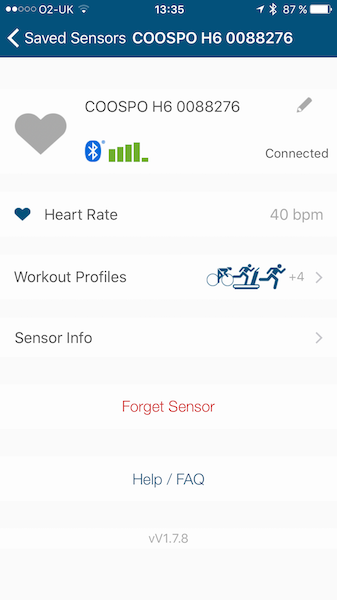 Coospo H6 Ant And Bluetooh Heart Rate Monitor