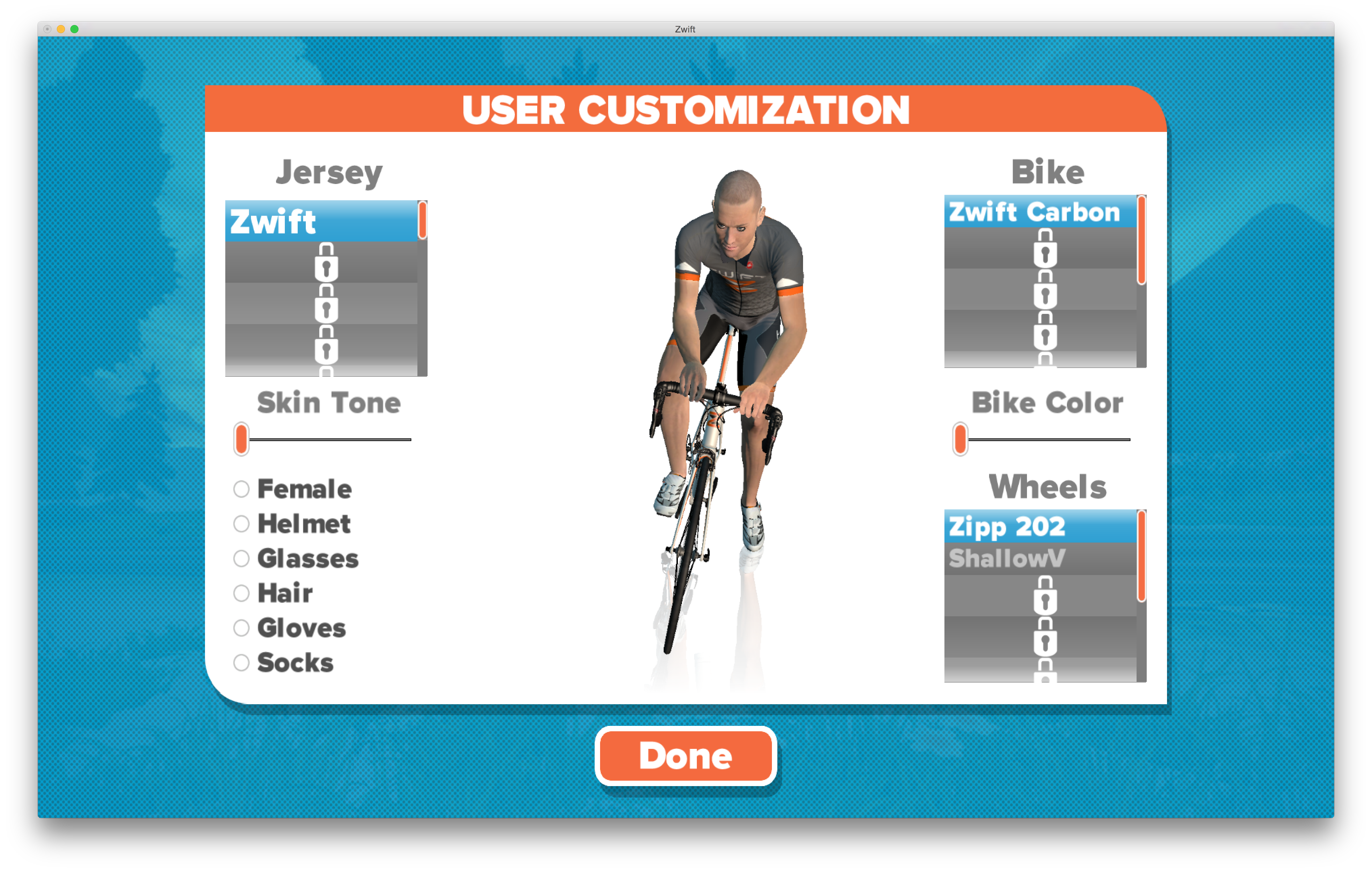 Zwift - A Virtual Reality Cycling Game